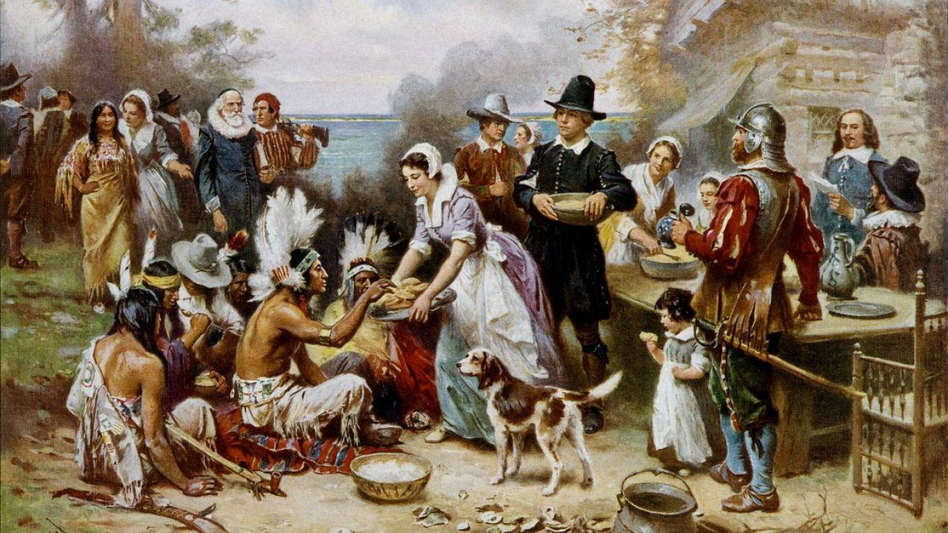 Celebrate Thanksgiving Like a Pilgrim and Eat Wild.