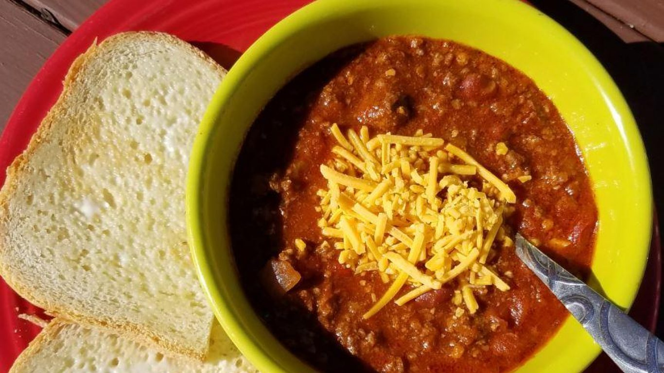 Recipe: Deer Camp Chili