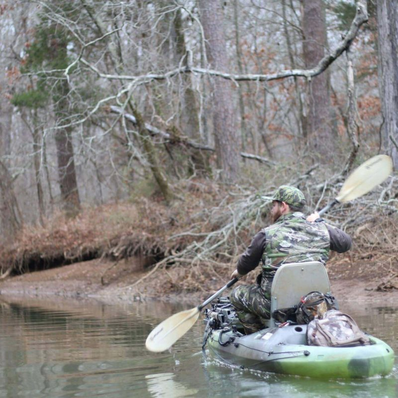 Kayak Hunting