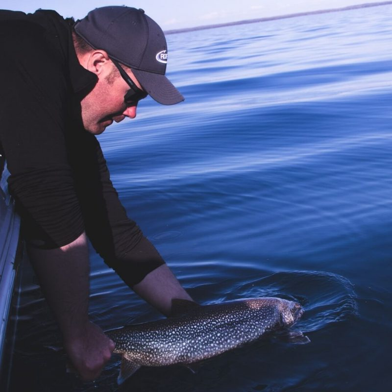 Lake Trout On Light Tackle With Bob Hinds