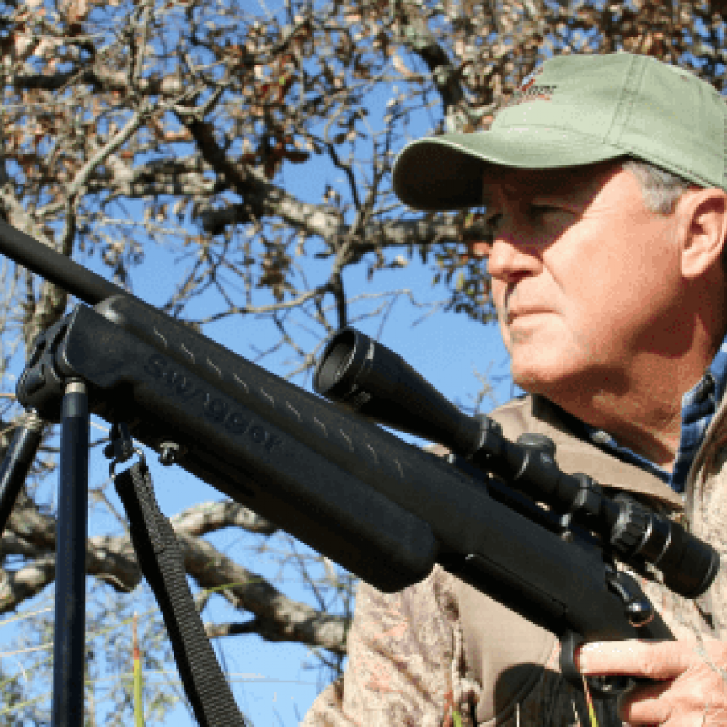 Texas Houndsman and Carnivore TV Host Gary Roberson