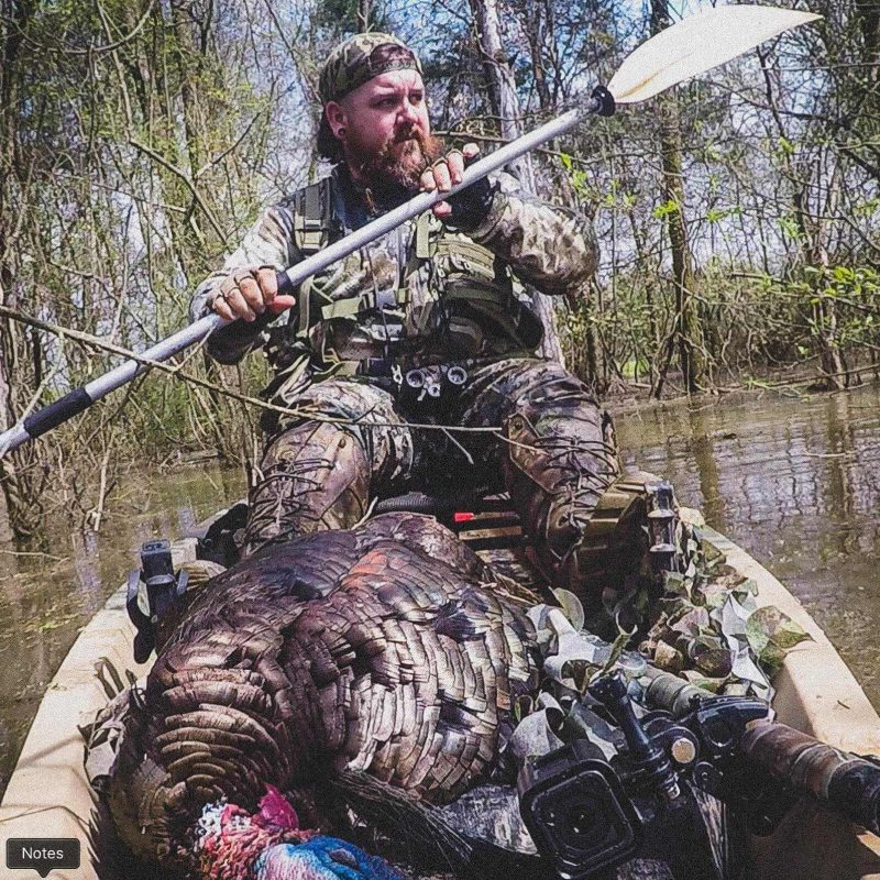 Turkey Hunting and Kayaks with Parker McDonald